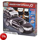 Mega Bloks 95766 Need for Speed Inseguimento Audi, 135 Pezzi