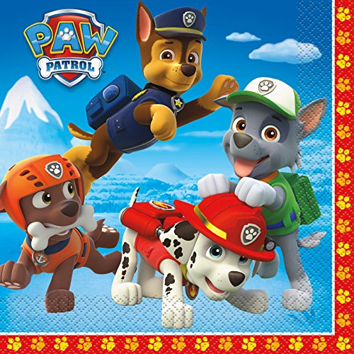 PAW Patrol Lunch Napkins (16) - 1