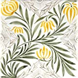 Floral spray tile, by William Morris & Co (V&A Custom Print)