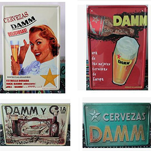 vintage-estrella-damm-poster-estrella-damm-signos-de-estano-metal-bar-plancha-pintura-30x20cm