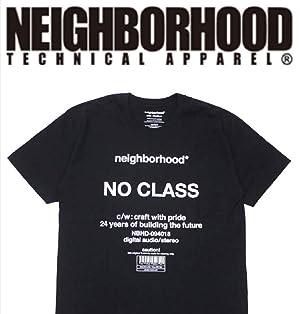 NEIGHBORHOOD TECHNICAL APPARELL ネイバーフッド スーベニアシリーズ Tシャツ 2018AW NO CLASS C TEE 東京限定 黒 ブラック Mサイズ