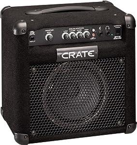 crate bt15 bass guitar 15 watt amplifier musical instruments. Black Bedroom Furniture Sets. Home Design Ideas