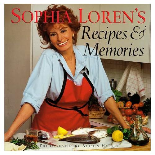 Recetas y Memorias de Sophia Loren