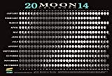 2014 Moon Calendar Card (5 pack): Lunar Phases, Eclipses, and More!
