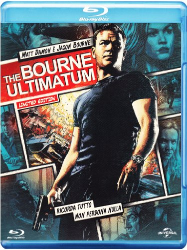 The Bourne ultimatum (reel heroes - limited edition) [Blu-ray] [IT Import]