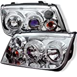 Spyder Auto Volkswagen Jetta Chrome Halogen LED Projector Headlight