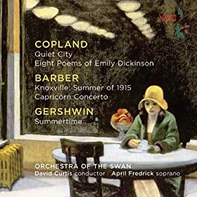 Orchestra of the Swan Plays Copland, Barber, et Gershwin