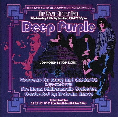CD : Deep Purple - Concerto For Group & Orchestra (CD)