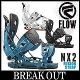 15-16 FLOW / フロー NX2 Fusion Strap メンズ ビンディング バインディング スノーボード