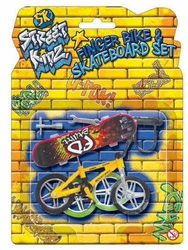 Finger Stunt Trick Bike - Assorted Colours [Toy]