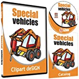 Tractor Clipart-Vinyl Cutter Plotter Clip Art Images-Sign Design Vector Art Graphics CD-ROM