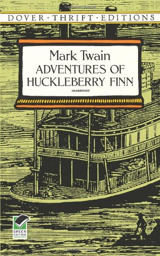 Cover of Adventures of Huckleberry Finn