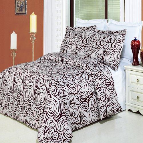 8pcs King size Bed in a bag Printed duvet set Including Egyptian
