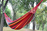 Crazy Shopping touring Camping hammock swing outdoor thickening canvas hammock from Crazy Shopping