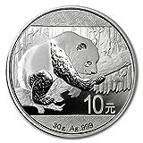 2016年製 パンダ銀貨 30g クリアケース入り 中国人民銀行発行 30gの純銀 高純度 シルバー コイン 地金型 Panda 熊猫 北京天壇 ジャイアントパンダ 保証書付き