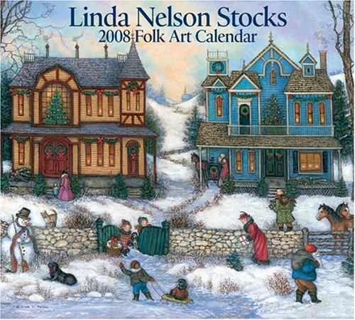 Linda Nelson Stocks Folk Art 2008 Wall Calendar - Buy Linda Nelson Stocks Folk Art 2008 Wall Calendar - Purchase Linda Nelson Stocks Folk Art 2008 Wall Calendar (2008 Calendars, Office Products, Categories, Office & School Supplies, Calendars Planners & Personal Organizers, Wall Calendars)