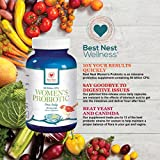 Best-Nest-Womens-Probiotics-Supplement-50-Billion-CFU-With-Acidophilus-and-12-Other-Probiotic-Strains-More-Complete-Than-Other-Supplements-All-Natural-30-Once-Daily-Time-Release-Capsules
