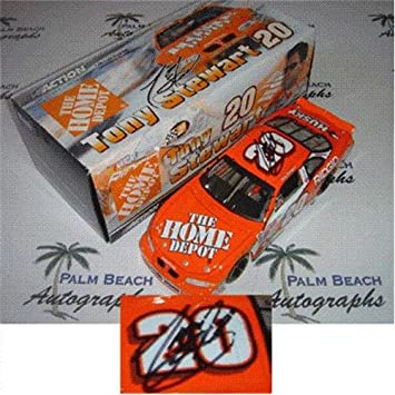 Tony Stewart Autographed Home Depot #20 (Action Bank) 1/24 Diecast ...