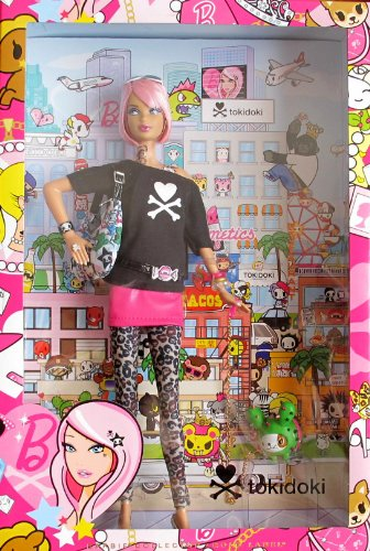 Barbie-Collector-Tokidoki-Barbie-Doll-Gold-Label-japan-import