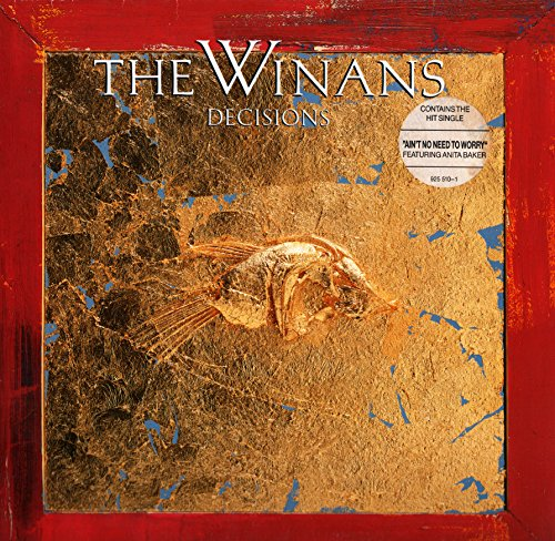 "The Winans - Decisions (Vinyle, album 33 tours 12"") 1987 Warner Bros Records / Warner / WEA , Made in West Germany by Record Service GmbH , Alsdorf réf : 925 510 - Ain't No Need To Worry - Millions - Breaking Of Day - What Can I Say ? - Right Left In A Wrong World - Don't Let The Sun Go Down On Me - Love Has No Colour - Give Me You - How Can You Live Without Christ ?"