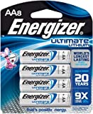 Energizer Ultimate Lithium Batteries(Size: AAUnit Count: 8)