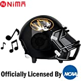 Nima Athletics NCAA Football Missouri Tigers Wireless Bluetooth Speaker. Officially Licensed Portable Helmet Speaker by NCAA College Football - Medium