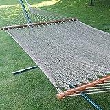 Prime Garden Two Point Tight Weave Caribbean Hammock-Mocha