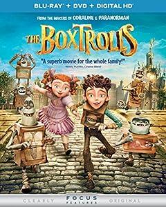 The Boxtrolls (Blu-ray + DVD + DIGITAL HD with UltraViolet) by Universal Studios
