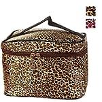 DDLBiz Leopard Print Cosmetic Bags Wo...