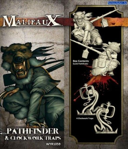 Malifaux - Guild: Pathfinder and Clockwork Traps by Wyrd Miniatures