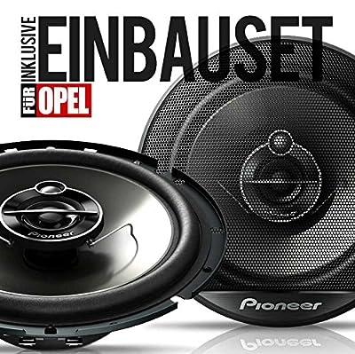 PIONEER Koax Front Boxen 165mm Auto-Lautsprecher+Zubehör 250 W für Opel Astra F von Pioneer bei Reifen Onlineshop