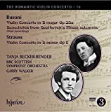 Busoni/Strauss: Romantic Violi