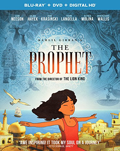 Kahlil Gibran's The Prophet (Blu-ray + DVD + Digital HD)