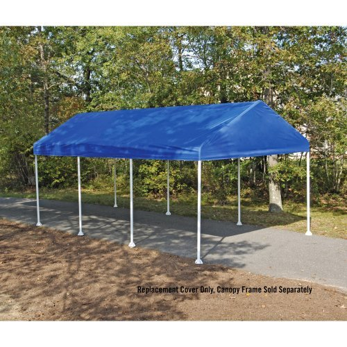 Buy ShelterLogic 10X20 Canopy Replacement Cover for 1-3/8  Frame (Green) at Best Price & Express II Umbrellas Canopies: Buy ShelterLogic 10X20 Canopy ...