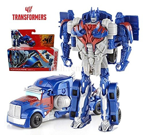 Hasbro Transformers Age Of Extinction Action Figure Optimus Prime One Step New