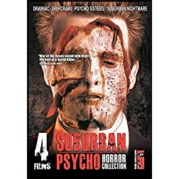 Suburban Psycho: 4 Film Horror Collection