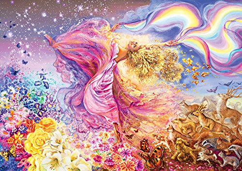 Buffalo Games Josephine Wall: Rainbow Girl - 300 Piece Jigsaw Puzzle by Buffalo Games