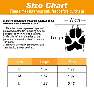 Dog Shoes Waterproof Dog Boots, Paw Protectors with Reflective and Adjustable Straps, Anti-Slip for Indoor & Outdoor Wear (Color: Black, Tamaño: M)