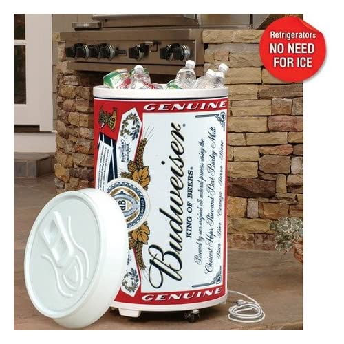 Amazon.com: Budweiser Coola Can Refrigerator / Electric