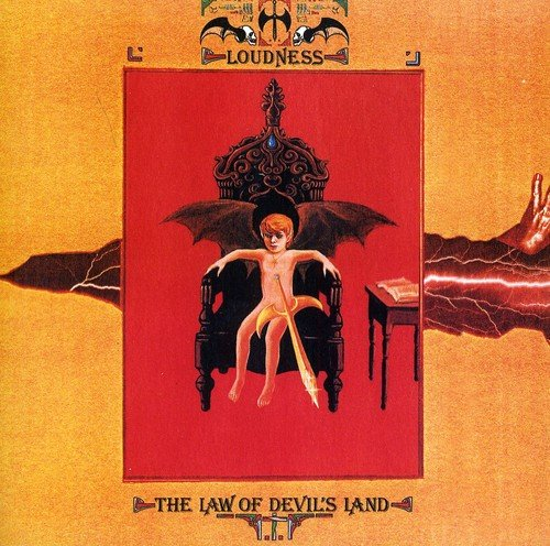 CD : LOUDNESS - Law Of Devils Land
