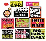 #5: SYGA Set Of 12 Funny Wedding Party Photo Booth Props Craft Item