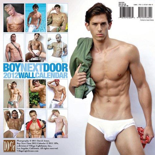 Boy Next Door 2012 Calendar