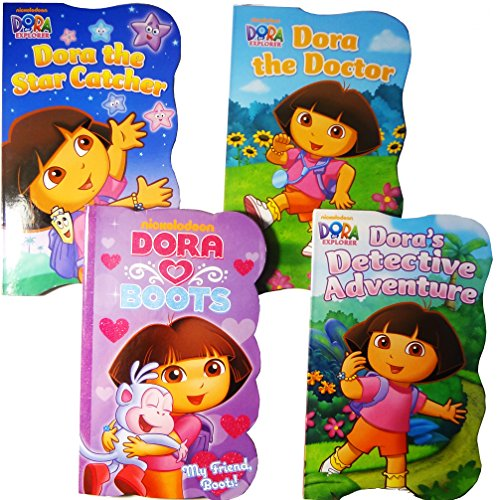 Dora the Explorer Baby Toddler Board Books - Set of Four - 1