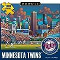 Jigsaw Puzzle - Minnesota Twins 100 Pc By Dowdle Folk Art