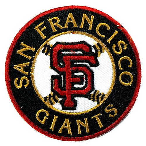 Pieces san francisco giants mlb embroidered iron on patch
