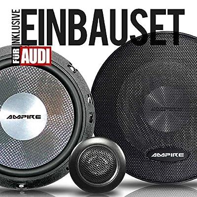 Ampire 2-Wege-Komponenten 165 mm Lautsprecher/Boxen für Audi A3 (8PA) 04-12 Vordere Türen oder Hintere Türen von Ampire auf Reifen Onlineshop