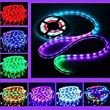 Meteory 5m/16.4ft 5050 RGB Dream Color 6803 Ic LED Strip Light Waterproof 133 Color Change