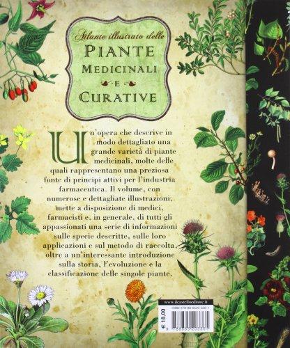 Atlante illustrato delle piante medicinali e curative - Mente, corpo e spirit...