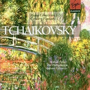 Tchaikovsky: Piano Concertos 1-3 / Concert Fantasy