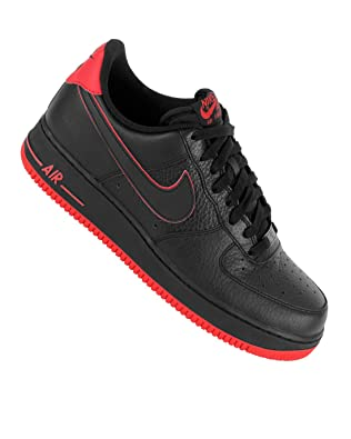 Nike Air Force Rot Schwarz